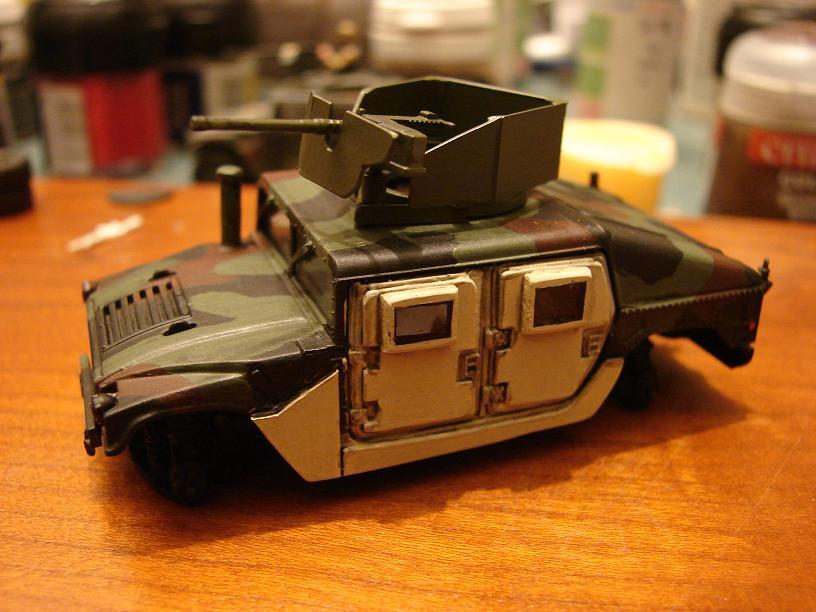 "Humvee ""Irak"" conversion sur base revell 1/72 1102221021351151537697125"