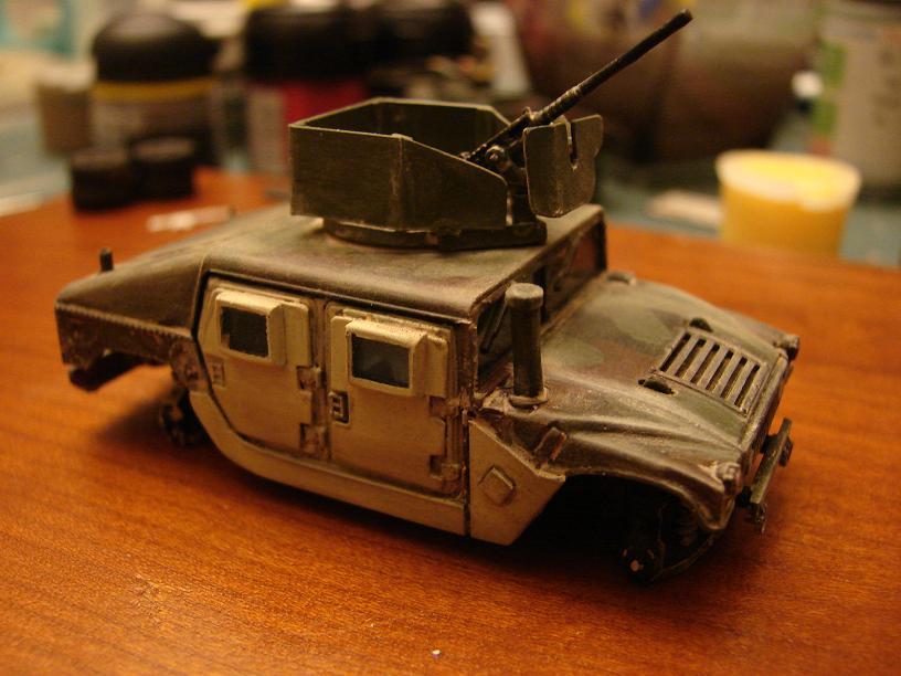 "Humvee ""Irak"" conversion sur base revell 1/72 1102240646121151537707063"