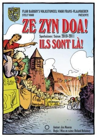 Flor Barbry's Volkstoneel voor Frans-Vlaanderen - Programma 2010 -2011. 110224115452970737704477