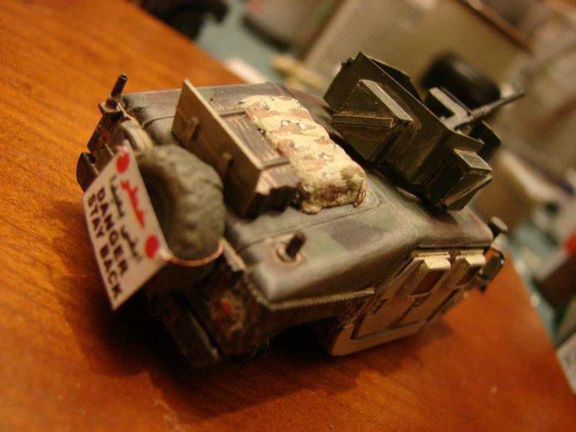 """""""Humvee Irak"""" conversion sur base Revell 1/72ème 1102261058181151537715822"""