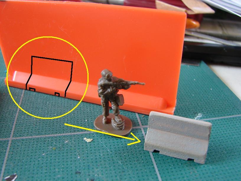 """""""Humvee Irak"""" conversion sur base Revell 1/72ème 1102270244201151537723655"""
