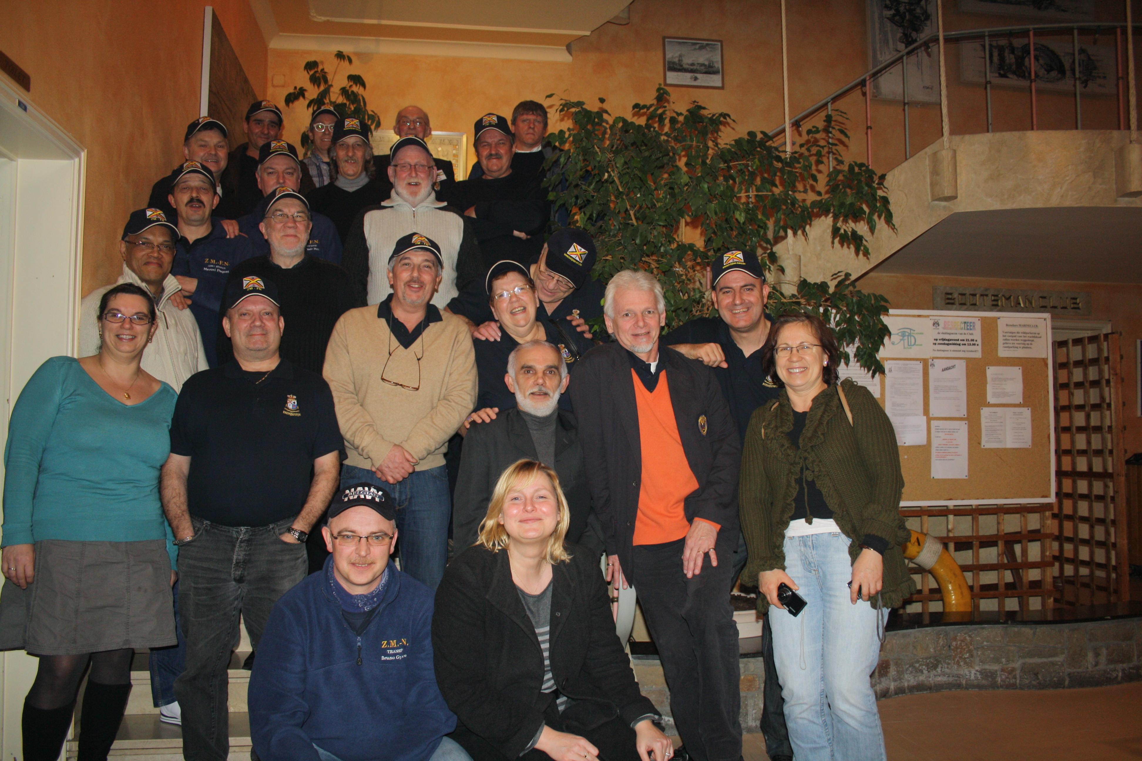 Réunion à Ostende le 26 février 2011 1102271234131095837720584