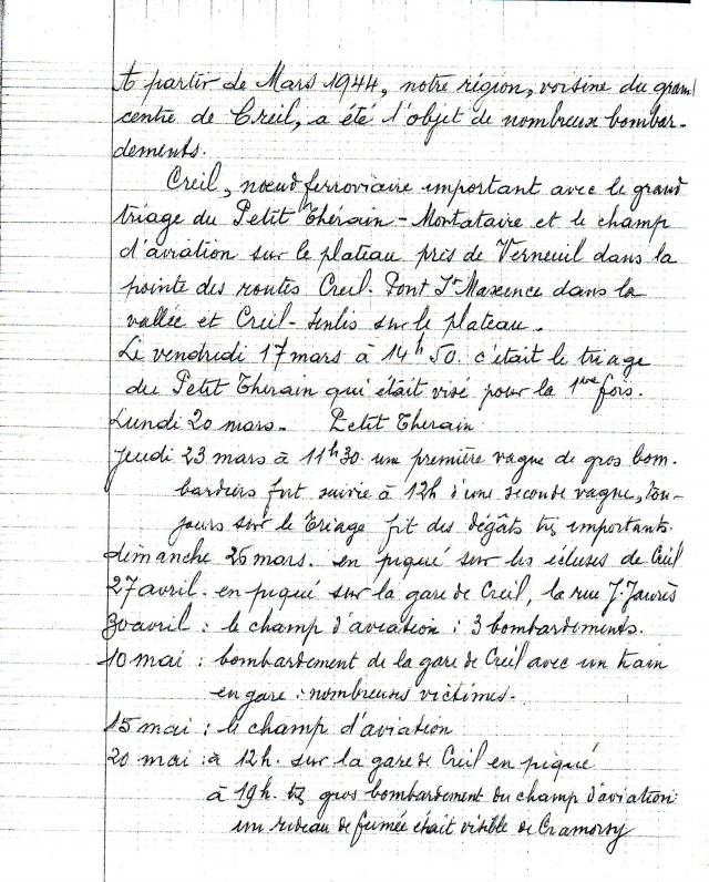 page 1 Cahier Lesage