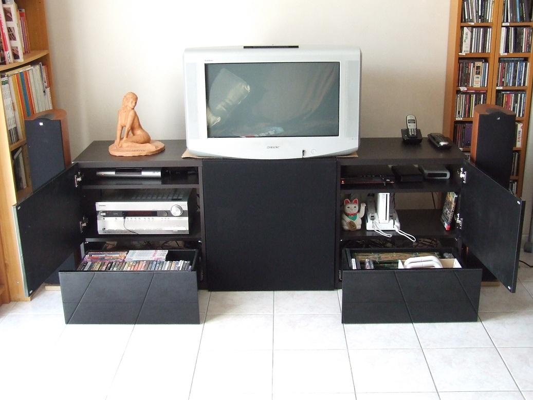 meuble tv ikea home cinema – Artzein.com
