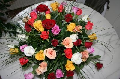 FLEURS , joyeux,anniversaire,plus,beau,bouquet,fleurs,que,