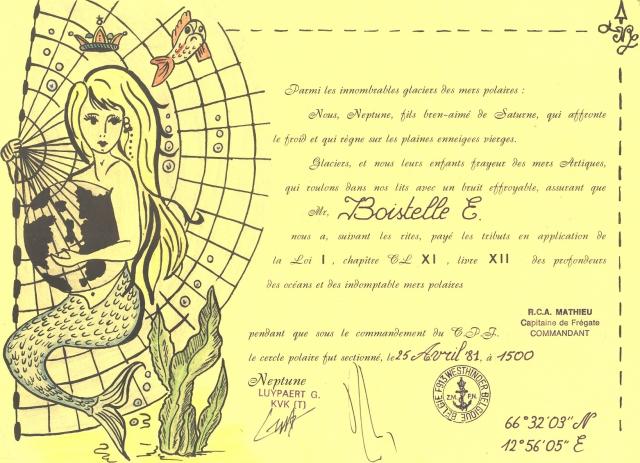 F913 - Cercle Polaire 1981 1103080850531285967783037