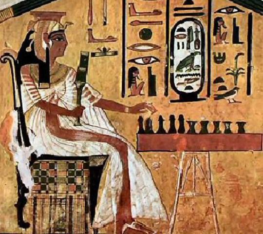 REINE EGYPTIENNE  EVD 54 mm 110313044956966707810654