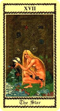 "La carte du tarot ""L'Etoile"" 110313074040385007812329"