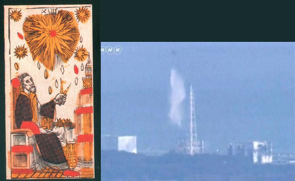 """La carte du Tarot """"Fukushima"""" 110317033159777137832853"""