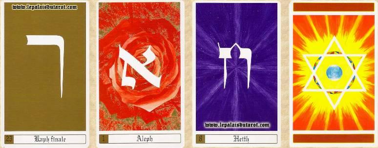 Tarot des lettres hébraïques 110323060259385007869634