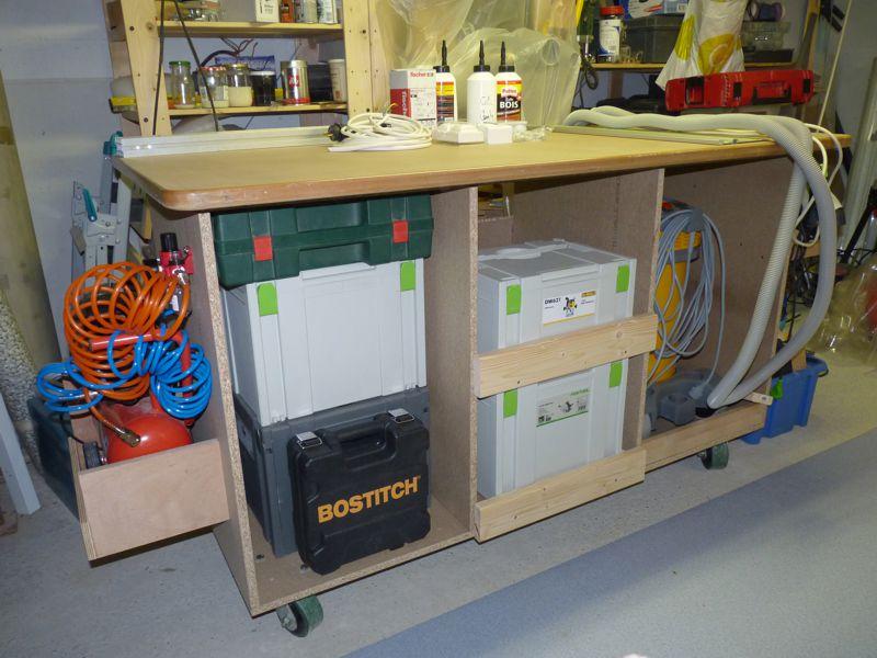 Rolling Cut Workbench