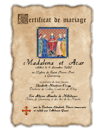 Registre des Baptêmes et des Mariages 110328122852129337895642
