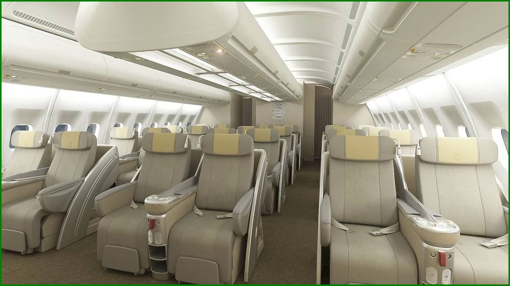 Www crash aerien aero l 39 airbus a340 300 de la for L interieur d un avion