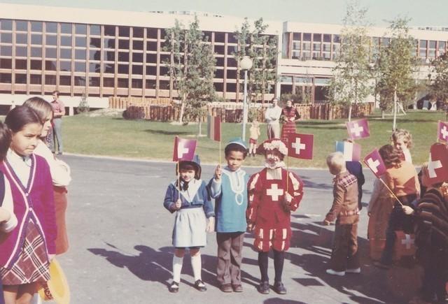 1972 : Inauguration du Lignon 110403083518185827933036