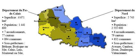 De herverdeling van de regio Nord Pas de Calais - Den draed 110404093017970737939493