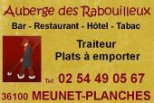 MEUNET-PLANCHE - AUBERGE DES RABOUILLEUX - Bar Hotel Restaurant Traiteur 110406093748643127950609