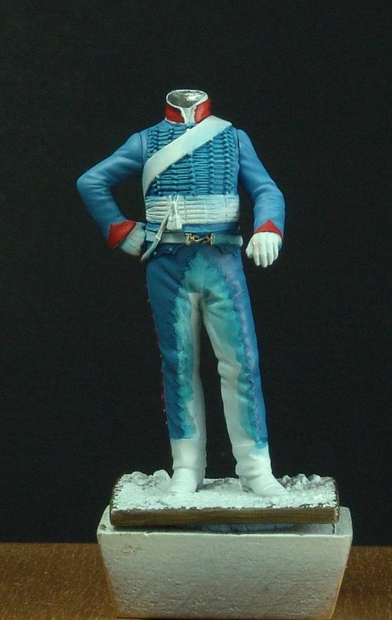Maréchal des logis du 10 ème Hussard, tenue de cantonnement 110407081436359347955177