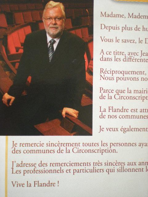 Jean-Pierre DECOOL, volksvertegenwoordiger van Frans-Vlaanderen 110417073345970738007481
