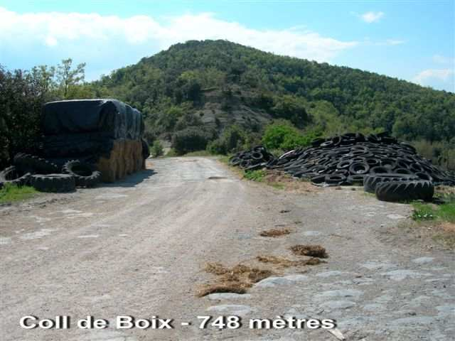 Coll de Boix - ES-GI- 748 m