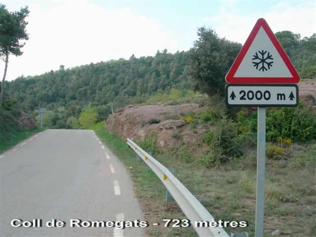 Coll de Romegats - ES-B- 730g