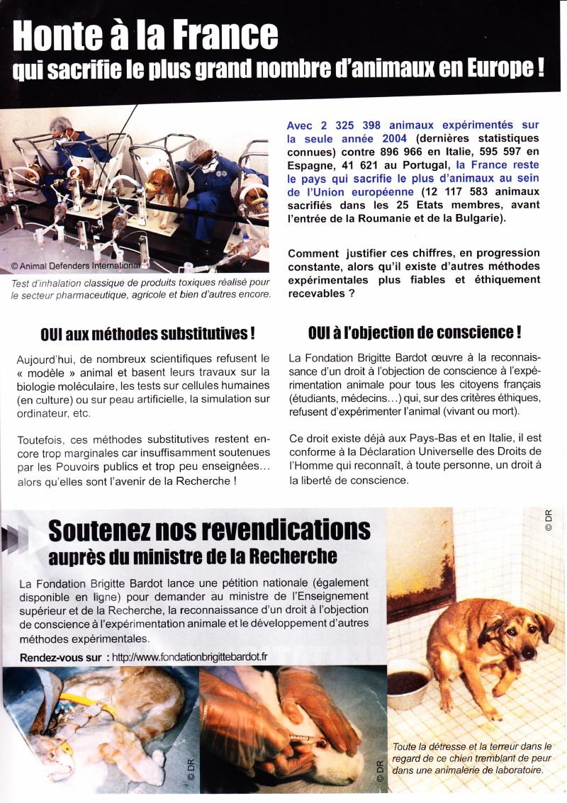 """""""Marche européenne contre la vivisection"""" 23/04/2011 Paris 1104230727171239648042615"""