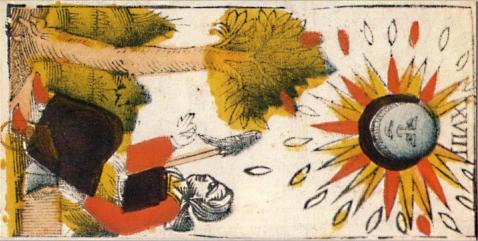 """La carte du tarot """"la Lune"""" 110426034036777138058017"""