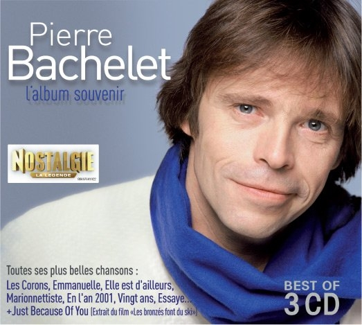 Pierre Bachelet-Album Souvenir (Best Of) - 3 CD