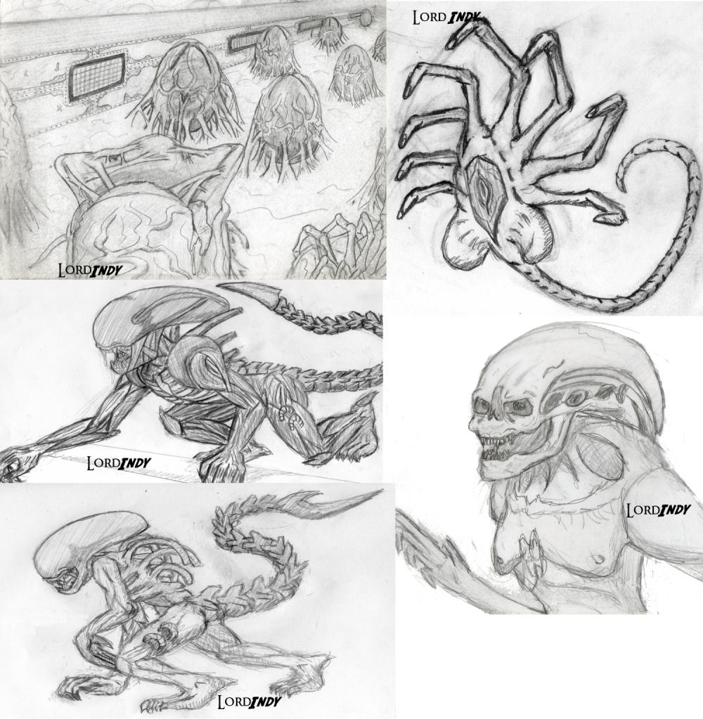 comment dessiner un alien