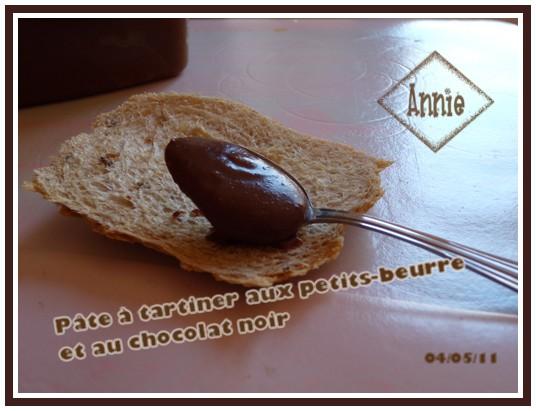 Pâte à tartiner aux petits-beurres et chocolat noir 110505123932683838106256