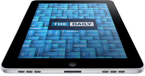 iOS : The Daily en difficulté sur l'iPad 1105060733311200808113522