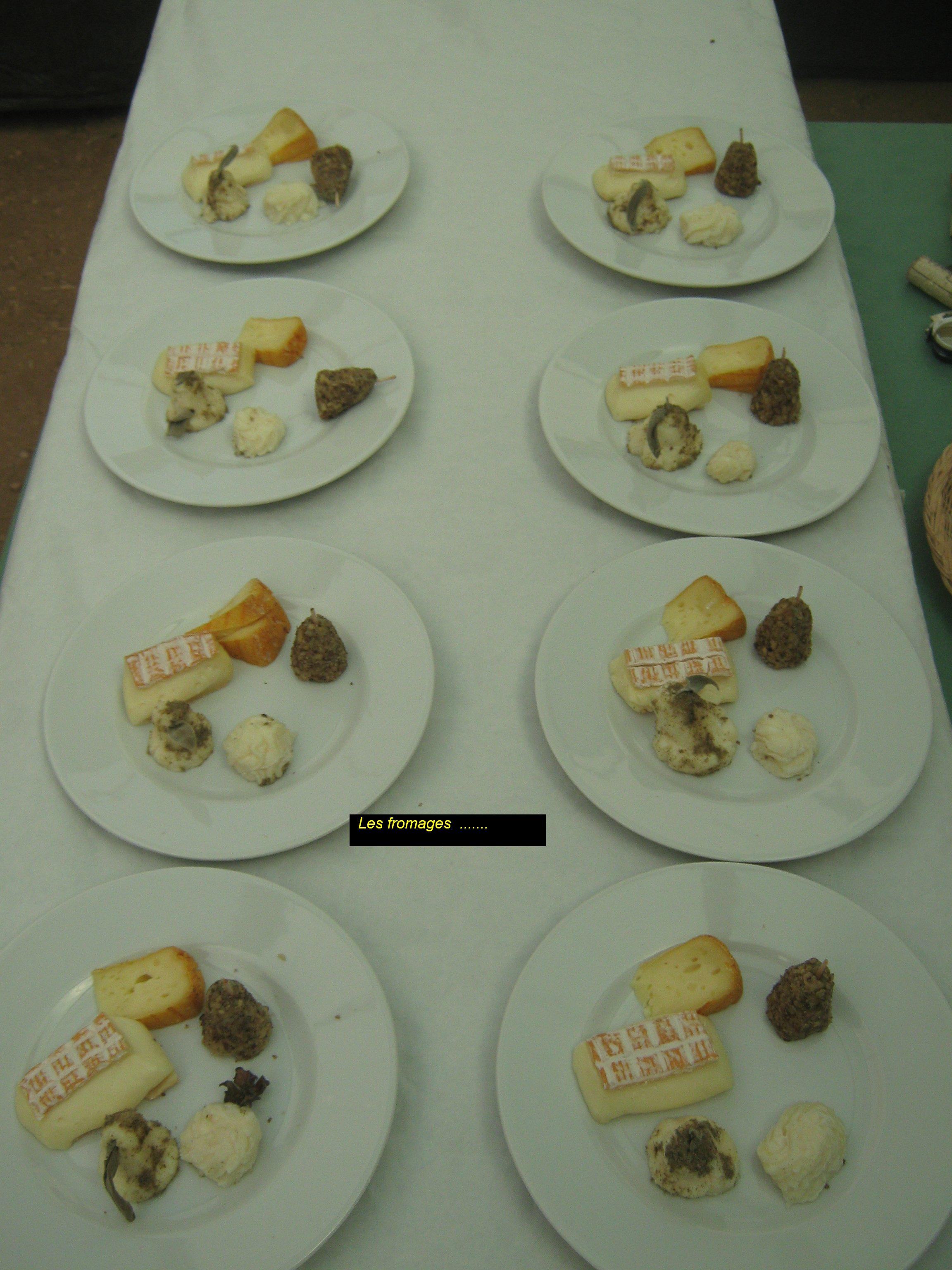 fromages du chef