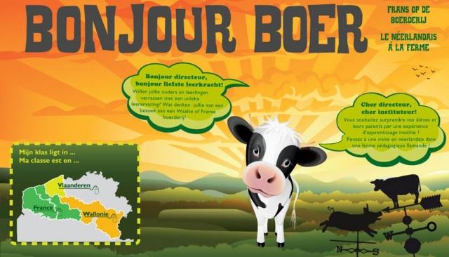 Bonjour Boer : het Nederlands op de boerderij 110512105755970738144564