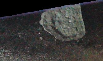 Il s'agit là d'une accumulation en plaque moins terrible que les formations de ligne provoquant des fissures