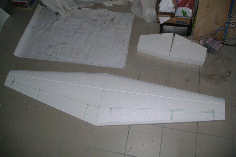 La construction du Caudron C561 au 1/3 110515091941912038163827