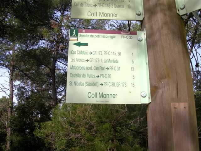 Panneau du Coll Monner