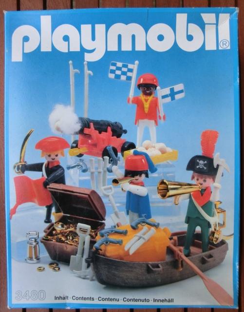 PLAYMOBIL : le thème des PIRATES ( Vintage ) 110521071537668848192919