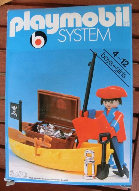 PLAYMOBIL : le thème des PIRATES ( Vintage ) 110521071537668848192920