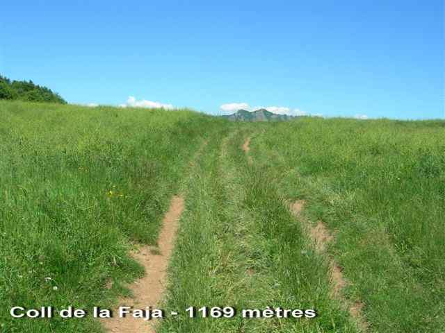 Coll de la Faja - ES-B- 1169 mètres