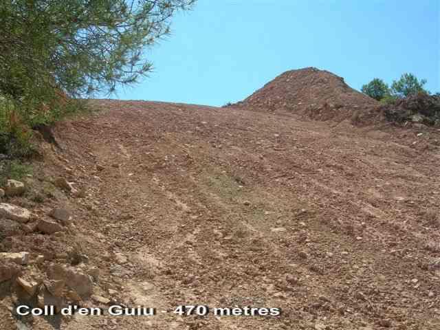 Coll d'en Guiu - ES-L- 470 mètres