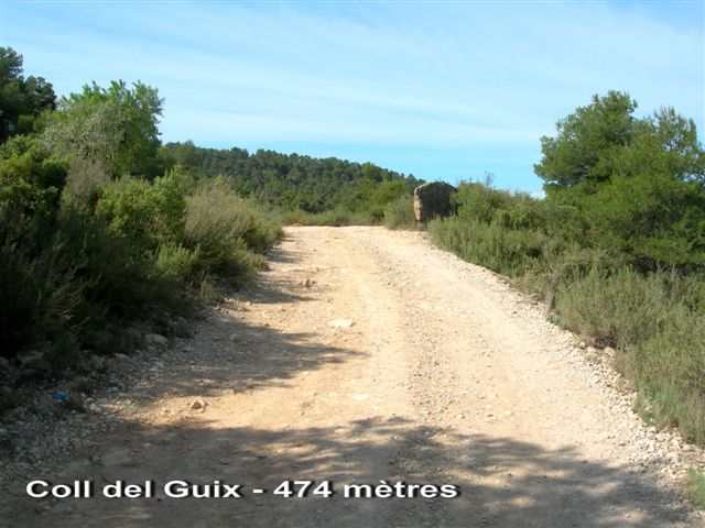 Coll del Guix ES-L- 474 mètres