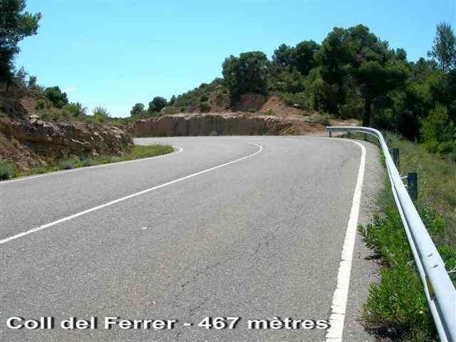 Coll del Ferrer - ES-L- 467 mètres