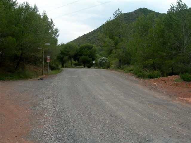 Coll de la Calderona - ES-V- 216 mètres
