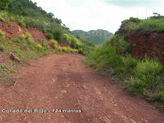 Collado del Rojo - ES-V- 724 mètres