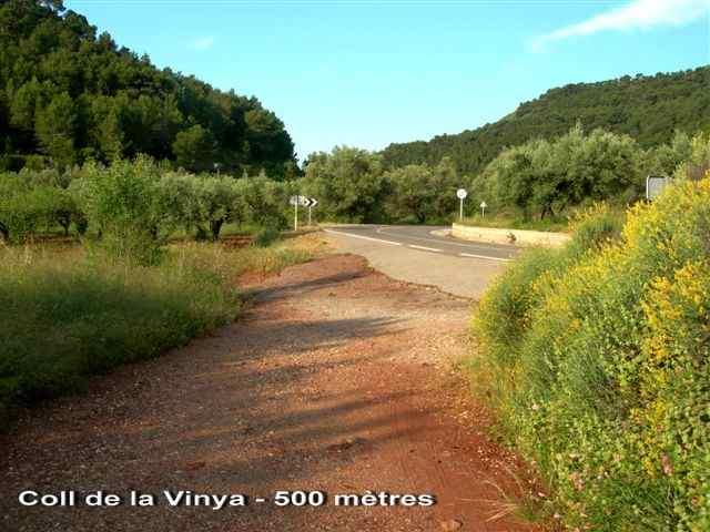 Coll de la Vinya ou de l'Oronet - ES-V- 500 mètres