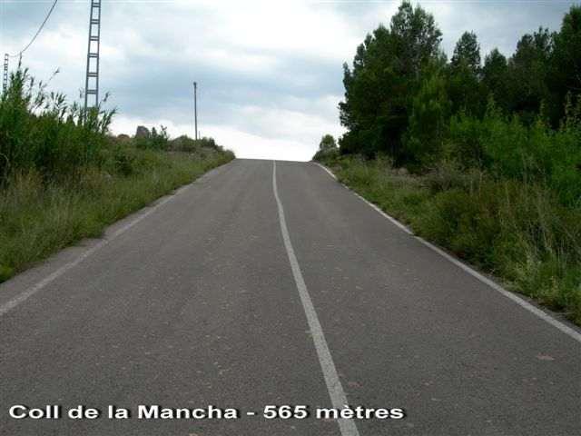Coll de la Mancha - ES-CS- 565 mètres