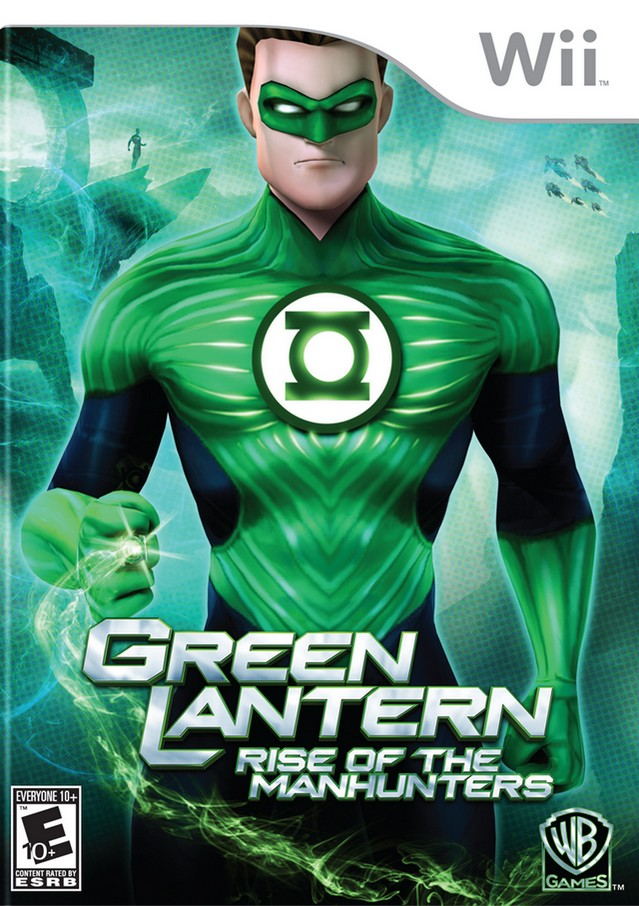 Green Lantern: Rise of the Manhunters Poster