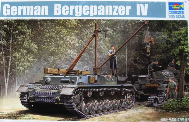 bergepanzer IV Trumpeter 1/35 110611035056667018304942