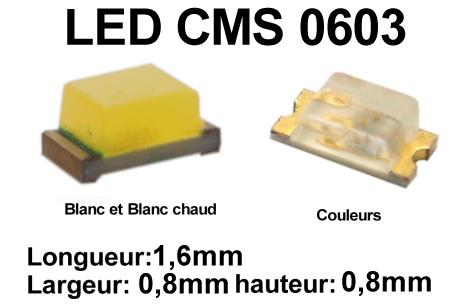 50 x SMD LED Bauart 1206   orange