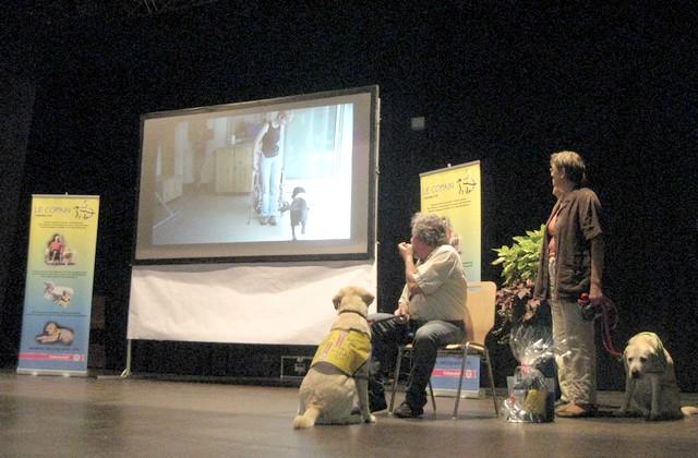 2011 : Remise des chiens d'assistance 110618054852185828343083