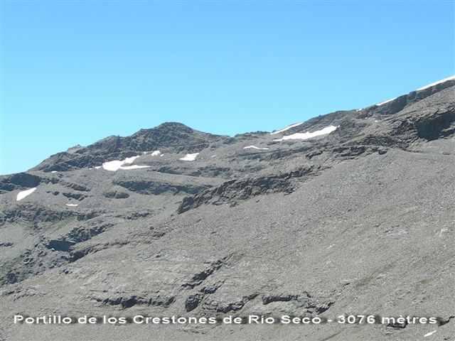 Portillo de los Crestones de Río Seco - 3076 m